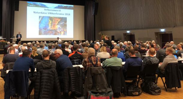 Viltkonferanse med digital jeger